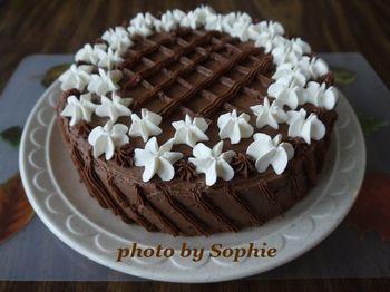 チョコレート・パンプキン・レイヤーケーキ