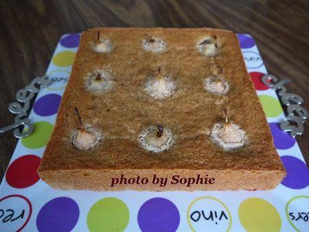 ペアーのスパイスケーキ