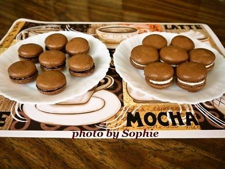 ココアマカロンクッキー(フィリング2種)