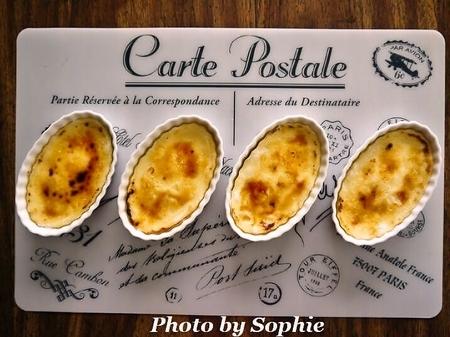 キャラメルチーズケーキ・ブリュレ風